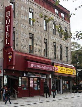 Photo 1 - Hotel l'Abri du Voyageur, 9 Ste-Catherine West, Montreal, QC, Canada