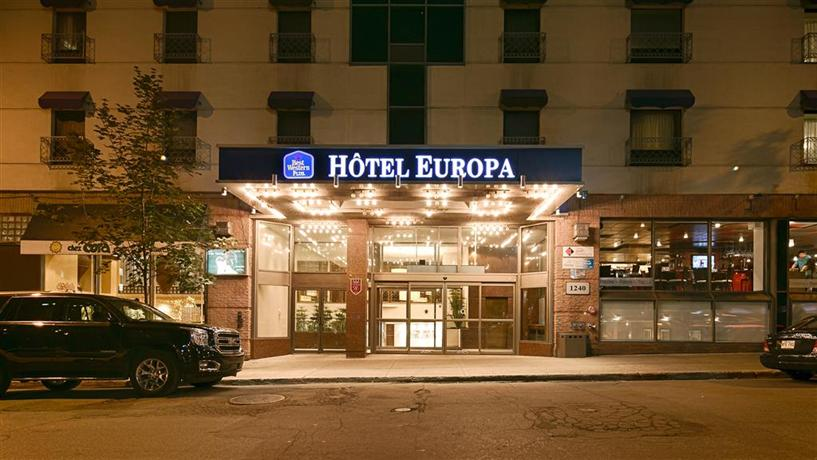91 best western plus montreal downtown hotel europa. Black Bedroom Furniture Sets. Home Design Ideas